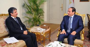 أمير الكويت يقبل دعوة السيسى لحضور المؤتمر الاقتصادى بشرم الشيخ