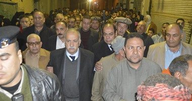 """جنازة """"عبده السعيد"""" شهيد سيناء تتحول إلى مظاهرة ضد الإخوان فى الدقهلية"""