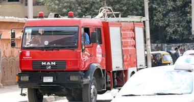 نفاد المياه من سيارات الإطفاء أثناء السيطرة على حريق بأبو كبير الشرقية