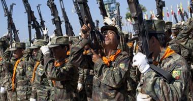 الجيش البورمى يعيد 75 طفلا الى الحياة المدنية