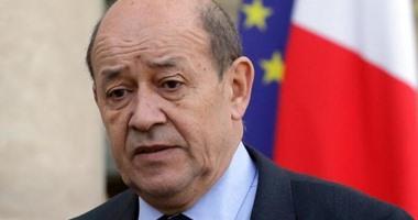 وزير الخارجية الفرنسى يزور القاهرة الاثنين القادم