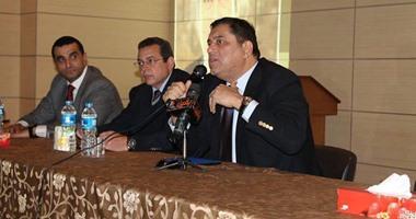 بالصور.. معتز الدمرداش فى ندوة الأكاديمية العربية للعلوم والتكنولوجيا