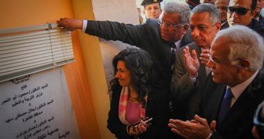 وزير التعليم ومحافظ القاهرة يفتتحان مدرسة محمد على بالسيدة زينب