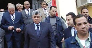 """وصول اللواء محمد إبراهيم إلى المحكمة لسماع أقواله بـ""""أحداث مكتب الإرشاد"""""""
