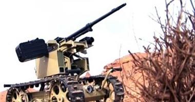 بالصور/ ازاحة الستار عن روبوت قتالي للحرس الثوري 2201526191235