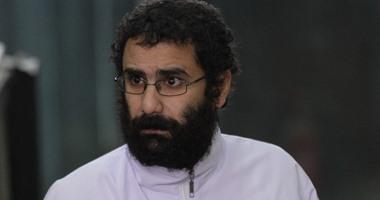 النقض تحيل طعن علاء عبد الفتاح على سجنه فى قضية أحداث الشورى لدائرة أخرى