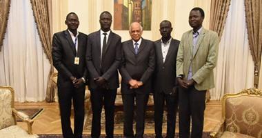 طلاب جنوب السودان لرئيس مجلس النواب: ندعم موقف مصر فى أزمة سد النهضة
