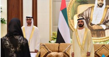 أصغر وزيرة فى العالم تؤدى اليمين القانونية أمام حاكم دبى محمد بن راشد