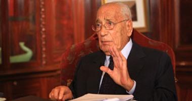 الكاتب الصحفى الراحل محمد حسنين هيكل
