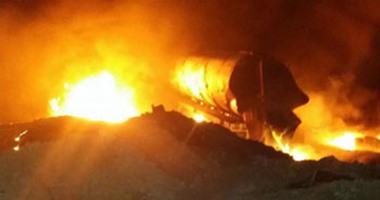 الحماية المدنية تخمد حريقين فى منزل وحظيرة ماشية بالمنوفية