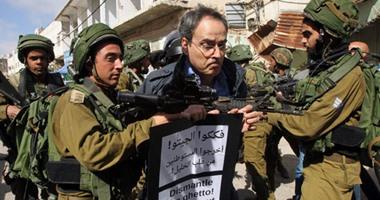 """اعتقال 10 فلسطينيين فى الضفة الغربية بينهم أقرباء منفذ عملية """"حلميش"""""""