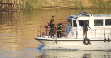 غرق طالبة فى نهر النيل بنى سويف