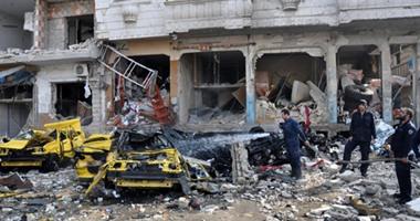 المعارضة السورية تقصف مواقع لداعش بالمدفعية الثقيلة فى ريف دعا