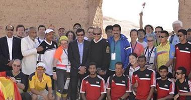 ختام اليوم الثانى لبطولة مصر الدولية للملاحة الرياضية بالأقصر