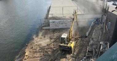 23 قرار إزالة لتعديات على نهر النيل فى محافظة الأقصر