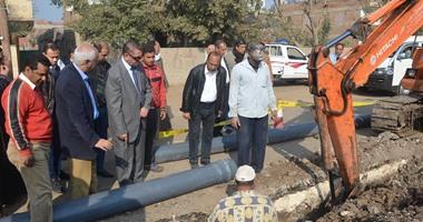 ننشر تفاصيل 45 مشروعًا لمياه الشرب والصرف الصحى بالعاشر من رمضان