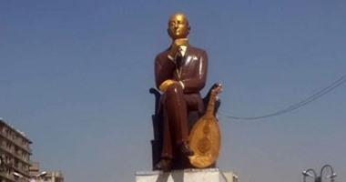 وزارة الثقافة تنفى سرقة تمثال الموسيقار محمد عبد الوهاب من باب الشعرية