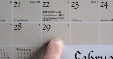"""29 فبراير يأتى كل 4 سنين مرة ويطلق على سنته """"الكبيسة"""".. اعرف الحكاية"""