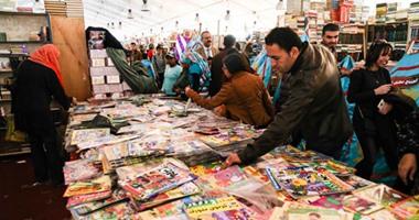 هيثم الحاج على: تخطينا الـ2 مليون زائر لمعرض القاهرة الدولى للكتاب