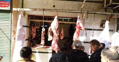 سكين الجزار قتلته أثناء تقطيع اللحوم فى بولاق الدكرور