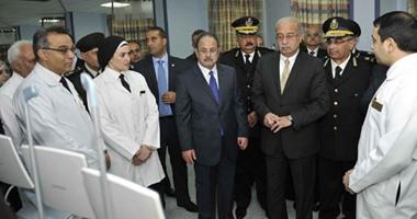 رئيس الوزراء يفتتح تطوير مستشفى الشرطة