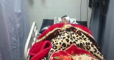 """بالفيديو.. وصول المصابين فى واقعة """"رمد طنطا"""" إلى مستشفى دار الشفاء"""