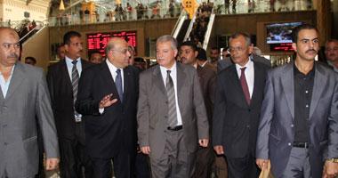 جانب من افتتاح محطة مصر