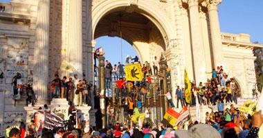 غدا.. نظر تجديد حبس 26 متظاهرا إخوانيا فى تظاهرات قصر القبة