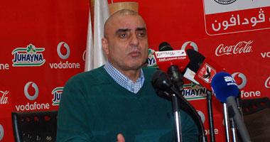 صورة عزمي مجاهد ممثل اتحاد الكرة المصري