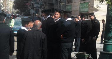 حملة أمنية لضبط الخارجين عن القانون بالإسكندرية