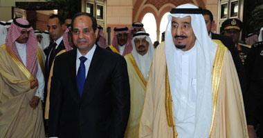 الرئيس السيسى وخادم الحرمين