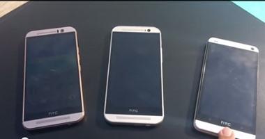 أول فيديو لهاتف HTC One M9 قبل الإعلان رسميًا عنه