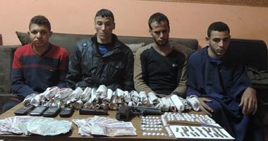 القبض على تشكيل عصابى تخصص فى الاتجار بالمخدرات بالمنوفية