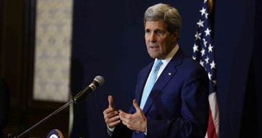 كيرى :واشنطن لن تقف مكتوفة الايدى امام تسليح ايران للمتمردين الحوثيين