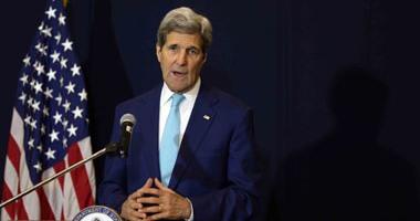 جون كيرى يزور الشرق الأوسط لمناقشة الاتفاق النووى ويجرى محادثات بمصر