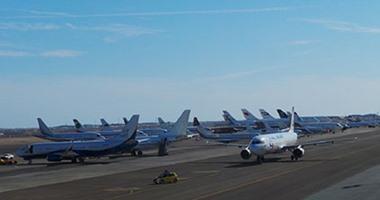 جهاز الإحصاء: 27 ألف رحلة حركة الطائرات فى شهر ديسمبر الماضى