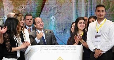 """الرئيس السيسى: الوقت حاسم.. وإحنا محتاجين """"نمد ونجرى"""""""