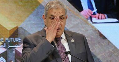 بالفيديو والصور ..محلب يجهش بالبكاء خلال كلمته فى ختام المؤتمر الاقتصادى بشرم الشيخ