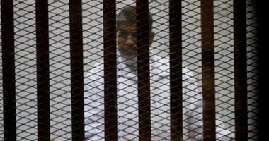 """""""الجنايات"""" تستأنف اليوم محاكمة """"مرسى"""" و10 آخرين فى """"التخابر مع قطر"""""""