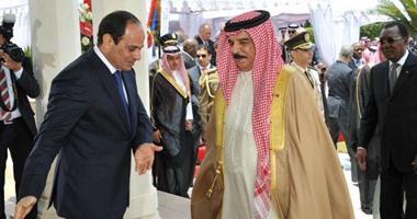 حمد بن عيسى آل خليفة - ملك البحرين والرئيس السيسى