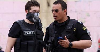 قوات الأمن تمشط محيط الجامعة