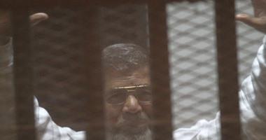 تأجيل محاكمة مرسى و10 آخرين فى التخابر مع قطر لجلسة 8 مارس