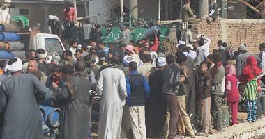 شرطة التموين تحبط تهريب 44 ألف أسطوانة بوتاجاز مدعمة خلال 24 ساعة