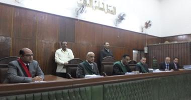 إحالة أوراق المتهم فى قضية قتل ضابط ورقيب شرطة بقنا إلى المفتى