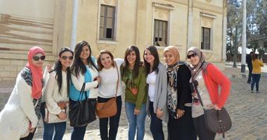 بالصور.. زيارة طلاب الأكاديمية العربية للعلوم لمدينة الإنتاج الإعلامى