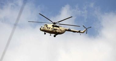 قصف جوى لأهداف إرهابيين بسيناء والقبض على 18 مشتبها به