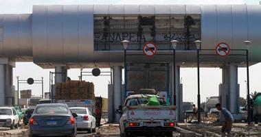 إغلاق طريق إسكندرية الصحراوى جزئيا لإنشاء كوبرى مشاة بمنطقة مرغم