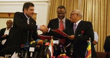 إثيوبيا تعترض على توقيع العقد مع مكتب دراسات سد النهضة فى القاهرة