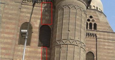 بالصور.. مئذنة مسجد المحمودية الأثرى مهددة بالانهيار