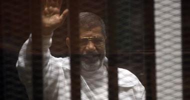 مرسى خلال محاكمته – أرشيفية